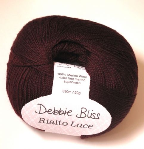 Debbie Bliss Rialto lace - Deep Burgundy